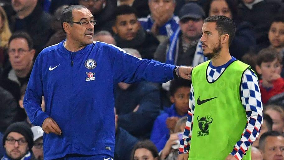 HLV Sarri nói điều bất ngờ về tương lai của Hazard