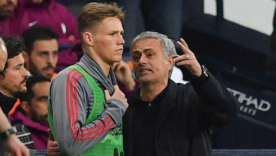 Jose Mourinho Calls Scott McTominay Man Utd's 'Best Player' and Takes Credit for Development