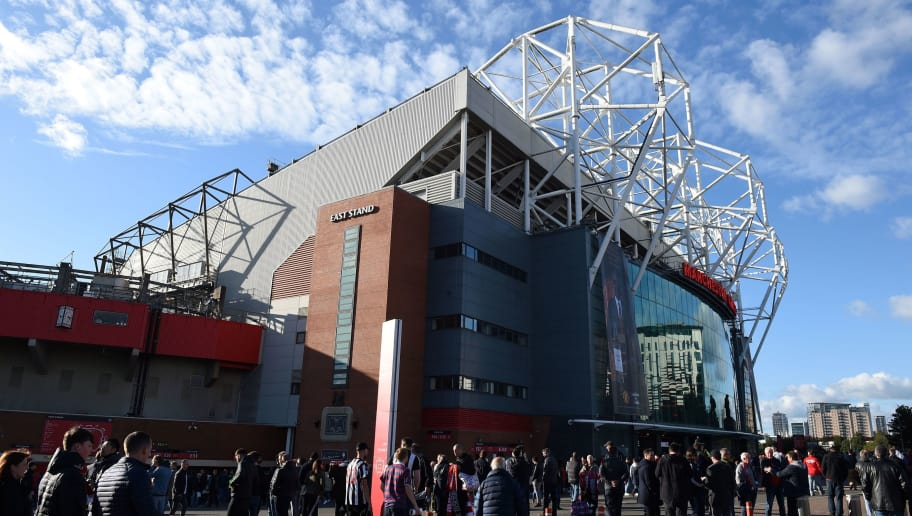 Supporters arrive at the stadium before the English Premier League football match between Manchester United and Newcastle at Old Trafford in Manchester, north west England, on October 6, 2018. (Photo by Oli SCARFF / AFP) / RESTRICTED TO EDITORIAL USE. No use with unauthorized audio, video, data, fixture lists, club/league logos or 'live' services. Online in-match use limited to 120 images. An additional 40 images may be used in extra time. No video emulation. Social media in-match use limited to 120 images. An additional 40 images may be used in extra time. No use in betting publications, games or single club/league/player publications. /         (Photo credit should read OLI SCARFF/AFP/Getty Images)