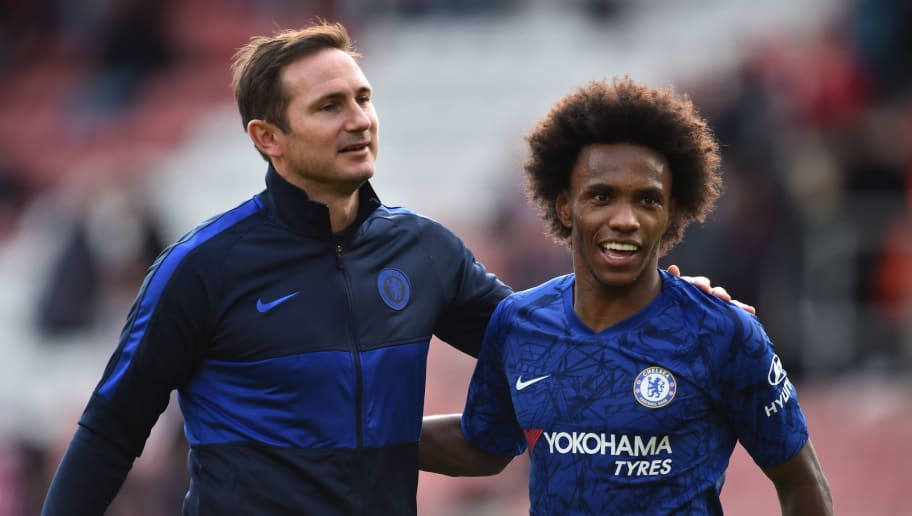 Willian Explains Why Frank Lampard's Tenure at Chelsea Has Been 'a Bit Weird'