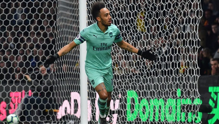 Arsenal Forward Pierre-Emerick Aubameyang Confident of Winning Golden Boot Race in PL