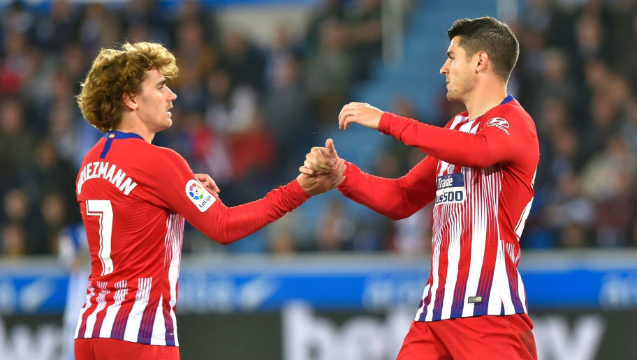 'We Respect Griezmann's Decision' - Alvaro Morata Hails the Contribution of the Frenchman