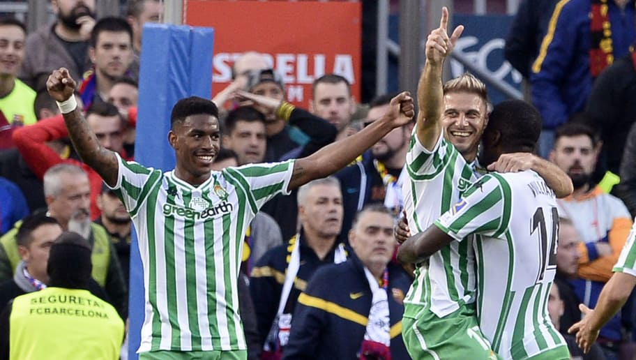 1a85cf351 Barcelona 3-4 Betis: Report, Ratings & Reaction as Visitors Shock Spanish  Giants With 4-Goal Haul