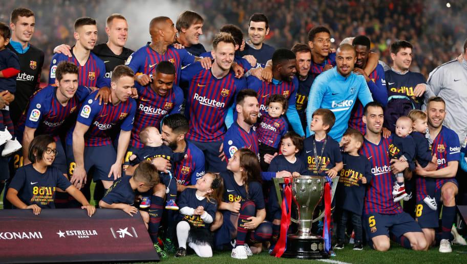8 De 11 Es Una Clara Muestra De Que El Fc Barcelona Es El Mejor