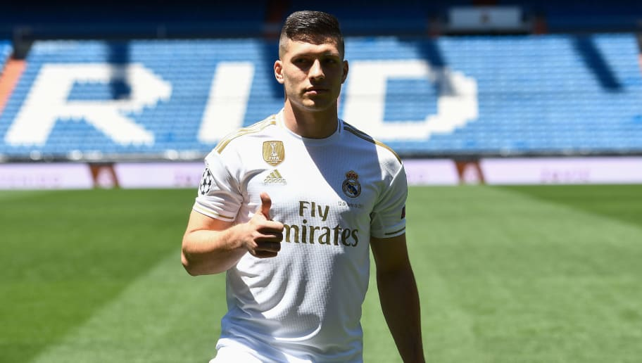 detailed look db05f fb165 Luka Jovic Reveals His Thoughts on Real Madrid Move After ...