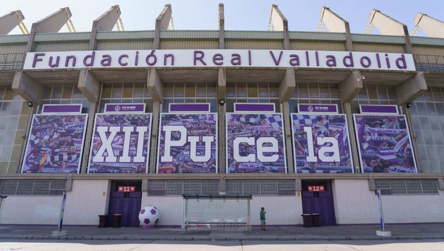 A picture shows the Jose Zorrilla Stadium, home of Real Valladolid, in Valladolid on September 3, 2018. - Former Brazil striker Ronaldo has taken control of Real Valladolid after buying 51 percent of the La Liga club's shares. (Photo by CESAR MANSO / AFP)        (Photo credit should read CESAR MANSO/AFP/Getty Images)