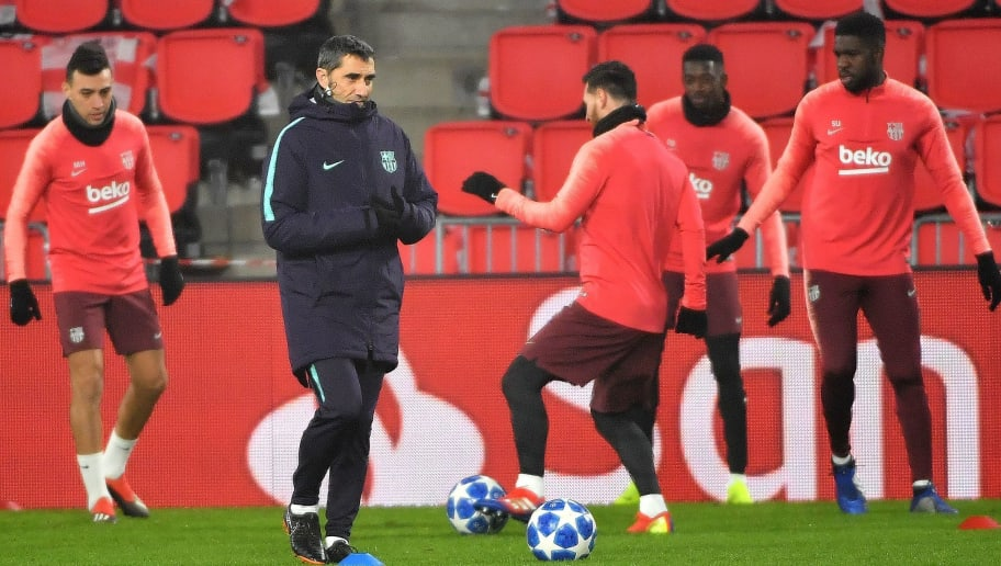 Ernesto Valverde Makes Bold Sevilla Lineup Decision With Double Clasico Looming