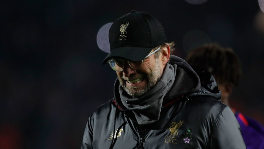 Liverpool's German coach Jurgen Klopp reacts  during the UEFA Champions League Group C second-leg football match between Red Star Belgrade and Liverpool FC at the Rajko Mitic Stadium in Belgrade on November 6, 2018. (Photo by Pedja Milosavljevic / AFP)        (Photo credit should read PEDJA MILOSAVLJEVIC/AFP/Getty Images)