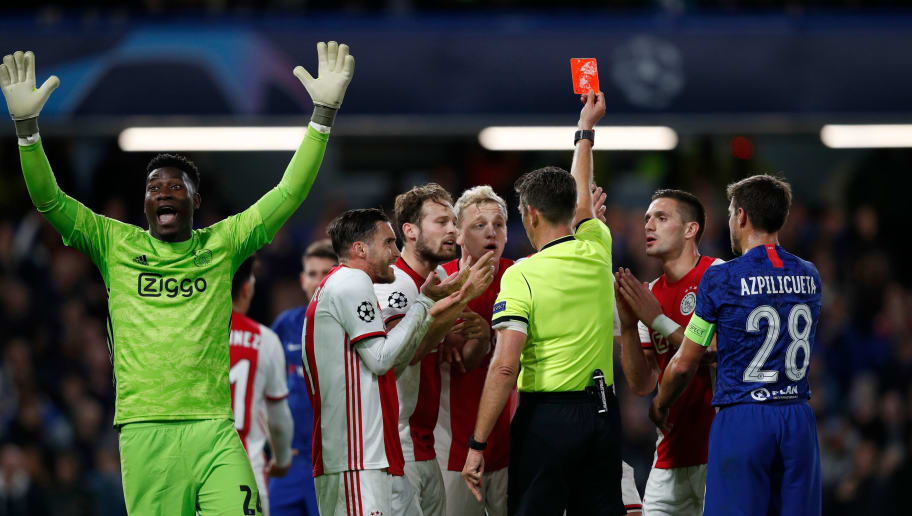 Uefa Admit Refereeing Blunders In Chelsea S 4 4 Champions League Draw With Ajax 90min