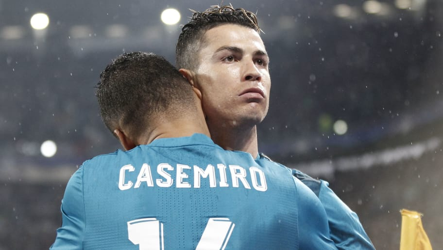 Image result for Casemiro and Ronaldo
