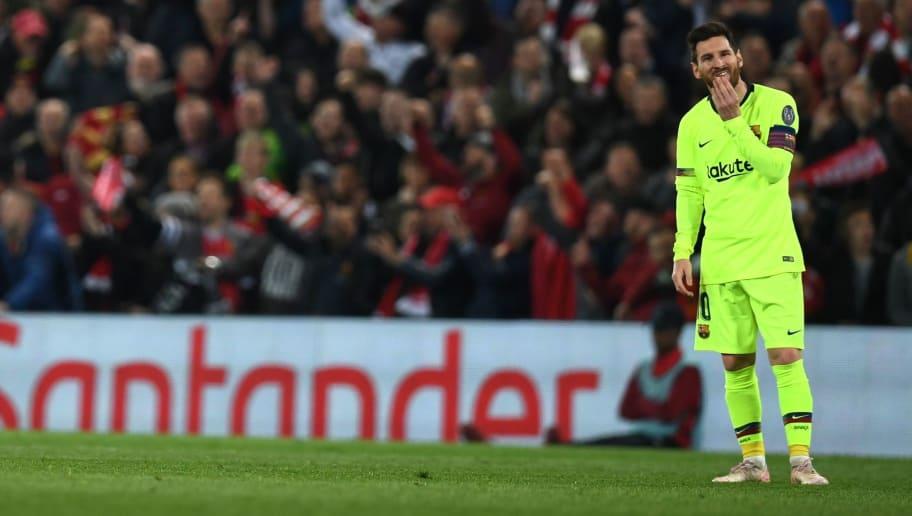 Le bus du Barça oublie Lionel Messi à Anfield