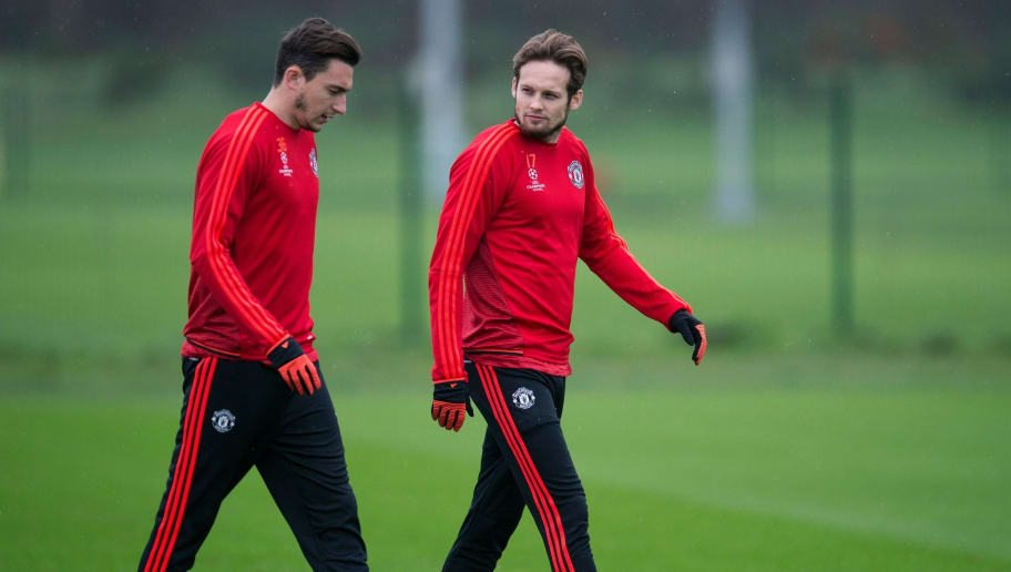 Man United Transfer News Daley Blind And Matteo Darmian Set For