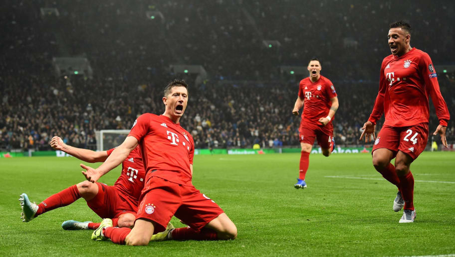 Image result for Bayern crush Tottenham with Seven goal thriller