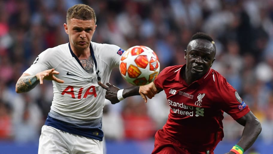Tottenham fullback Trippier: I don't know about my future