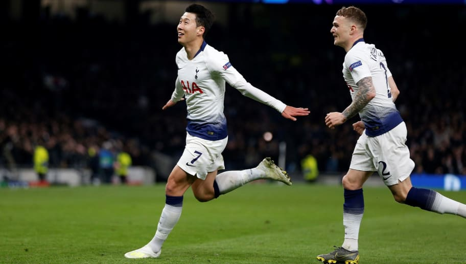 Tottenham Man City Report Ratings Son Heung min Gives Spurs The Advantage In All English Tie min