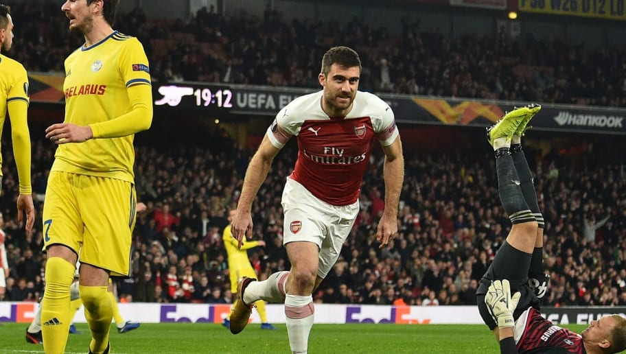 Sokratis Papastathopoulos a Doubt for Greece Euro 2020 Qualifiers After Picking Up Ankle Knock