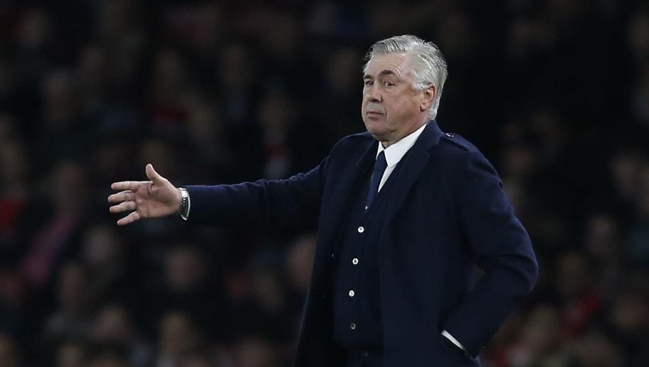 Napoli Kalah, Ancelotti Akui Salah Strategi