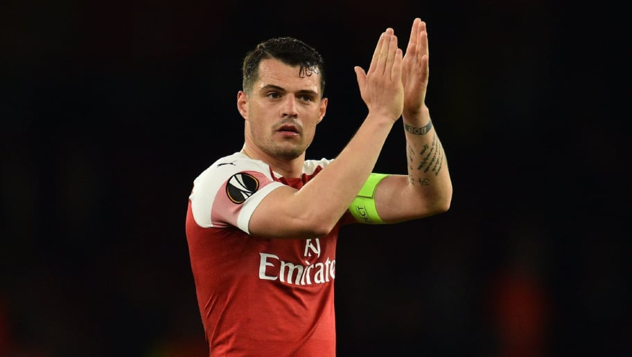Image result for xhaka captain