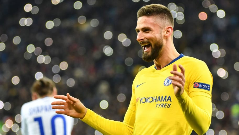 Olivier Giroud Responds to Possibility of Chelsea Exit Amid Reduced Involvement Under Maurizo Sarri