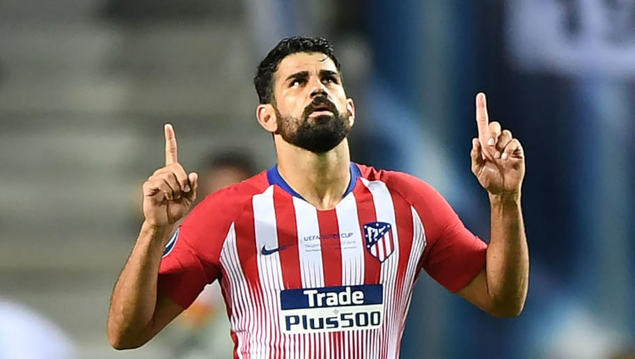 West Ham Interested in Loan Move for Atletico Madrid Striker Diego Costa