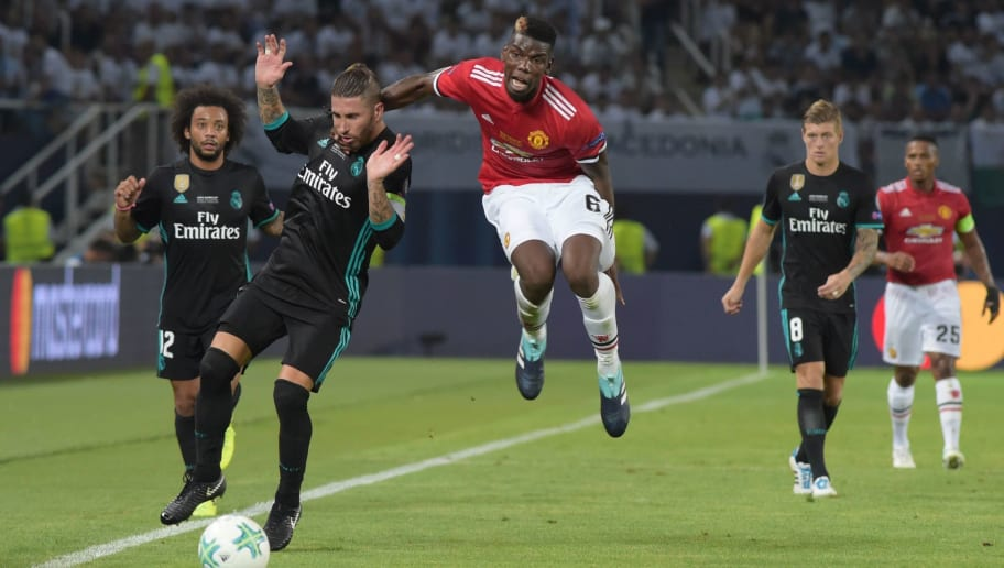 FBL-EUR-SUPERCUP-REAL-MADRID-MAN UTD