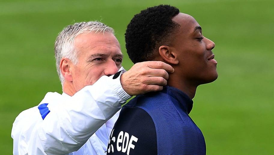Équipe de France : Didier Deschamps fait passer un message à Anthony Martial