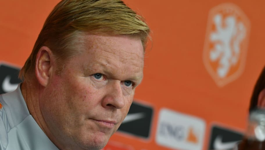 ​Ronald Koeman Doesn't Think That Netherlands' Qualifier Match Against Germany is Crucial