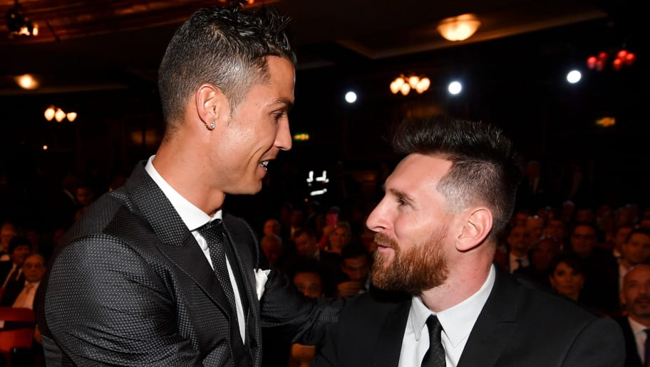 Image result for images of Cristiano Ronaldo and Messi
