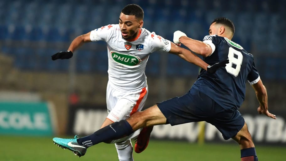 FBL-FRA-CUP-MONTPELLIER-LORIENT