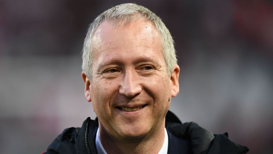 AS Monaco vice-president Vadim Vasilyev walks onto the pitch ahead of the French League Cup final football match between Monaco (ASM) and Paris Saint-Germain (PSG) at The Matmut Atlantique Stadium in Bordeaux, southwestern France on March 31, 2018.  / AFP PHOTO / FRANCK FIFE        (Photo credit should read FRANCK FIFE/AFP/Getty Images)
