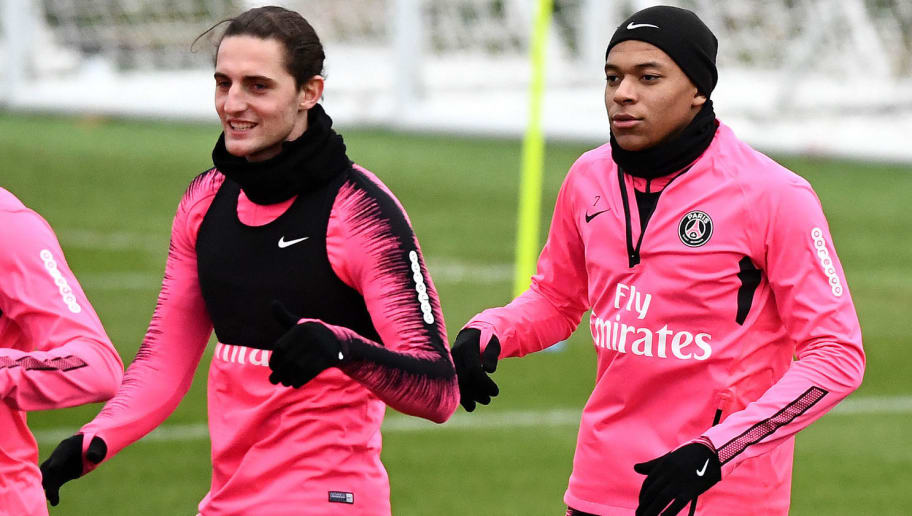 FBL-FRA-LIGUE1-EUR-C1-PSG-TRAINING