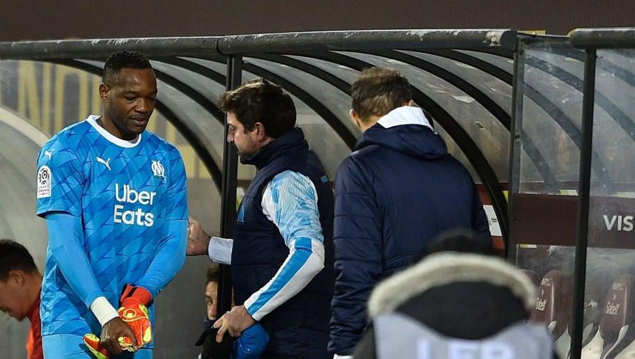OM : Steve Mandanda sort sur blessure dans le match face à Metz