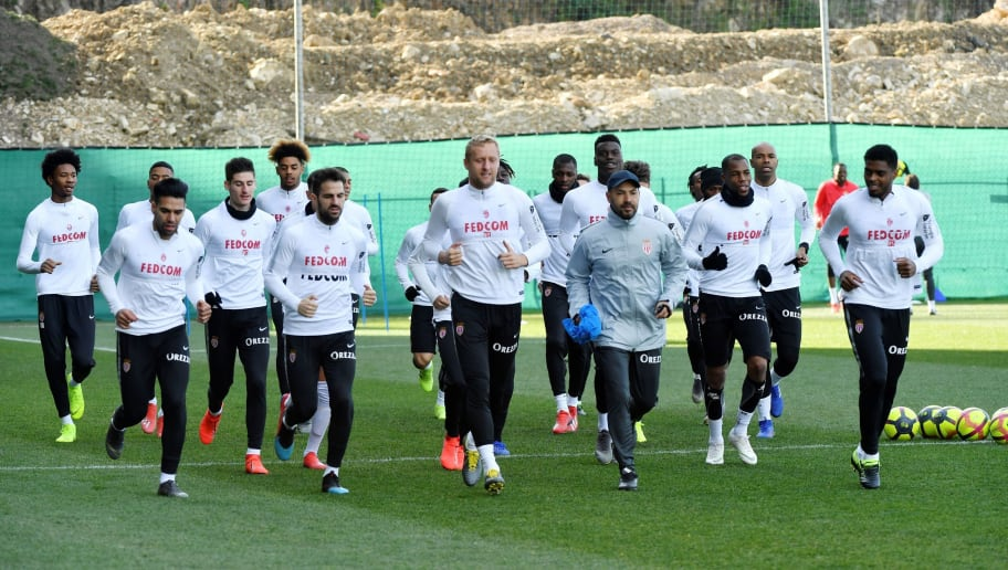 FBL-FRA-LIGUE1-MONACO-TRAINING