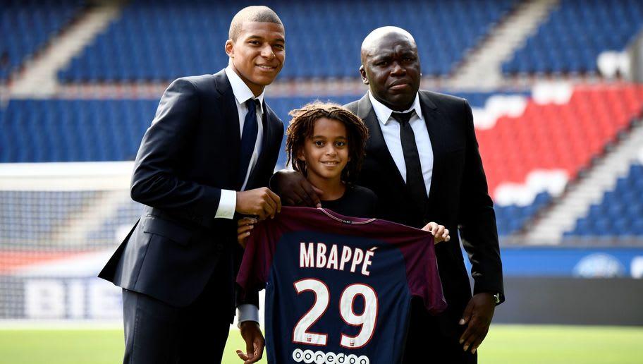 Kylian Mbappé Ethan Mbappe