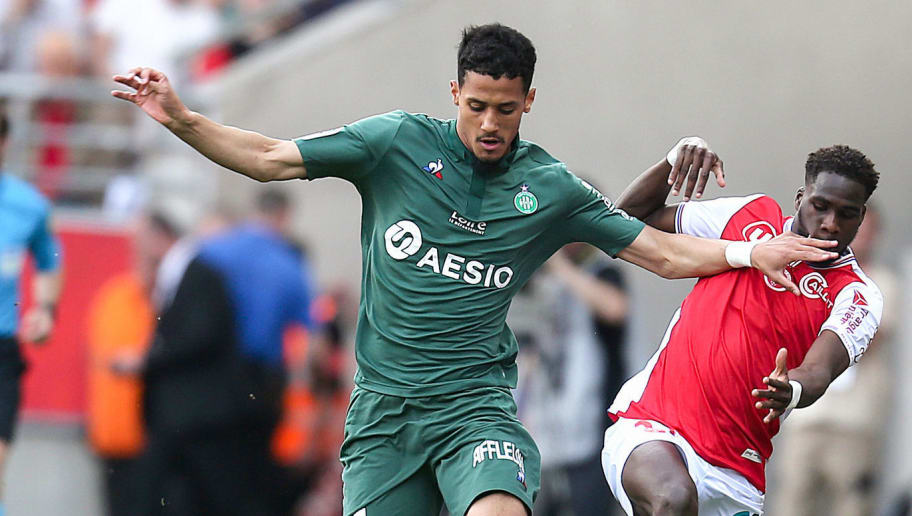 FBL-FRA-LIGUE1-REIMS-SAINT ETIENNE