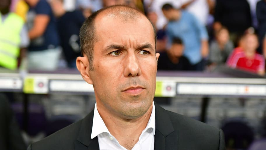 Monaco's Portuguese coach Leonardo Jardim attends the French L1 football match between Toulouse and Monaco on September 15, 2018 at the Municipal Stadium in Toulouse, southern France. (Photo by PASCAL PAVANI / AFP)        (Photo credit should read PASCAL PAVANI/AFP/Getty Images)