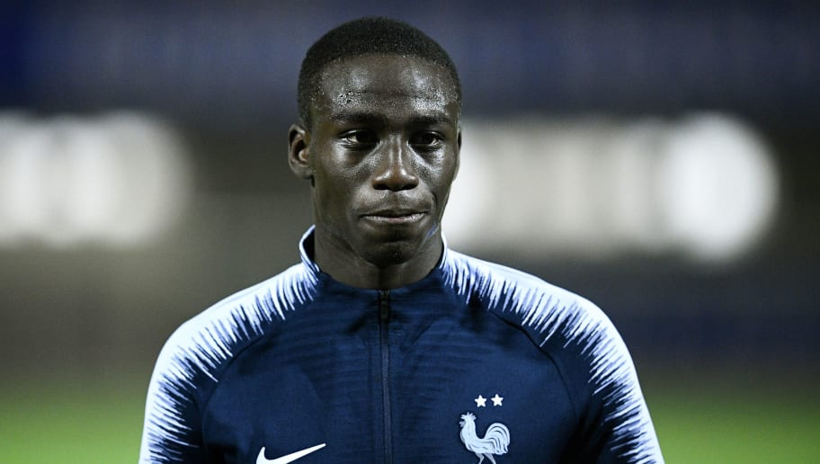 France's defender Ferland Mendy leaves after a training session in Clairefontaine-en-Yvelines, near Paris, on November 13, 2018, as part of the team's preparation for the Nations League football match against the Netherlands and a friendly football match against Uruguay. (Photo by FRANCK FIFE / AFP)        (Photo credit should read FRANCK FIFE/AFP/Getty Images)