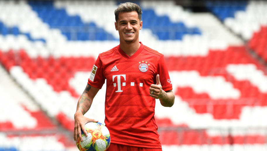 Image result for coutinho bayern