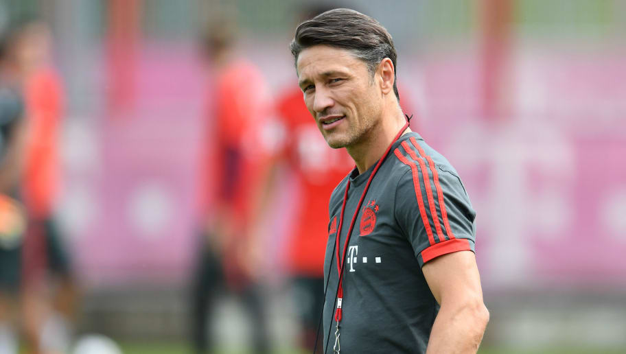 Bayern Munich's new Croatian head coach Niko Kovac attends a trainings session at the FC Bayern Munich trainings ground in Munich, southern Germany, on July 4, 2018. (Photo by Christof STACHE / AFP)        (Photo credit should read CHRISTOF STACHE/AFP/Getty Images)