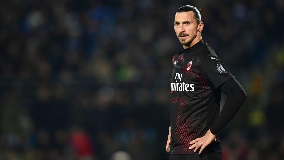 Zlatan Ibrahimovic Subject to Discriminatory Chanting During Inter Milan's Game vs Cagliari