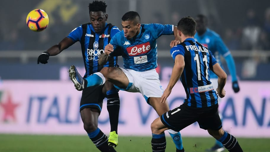 Napoli vs Atalanta Preview: Where to Watch, Live Stream, Kick Off Time & Team News