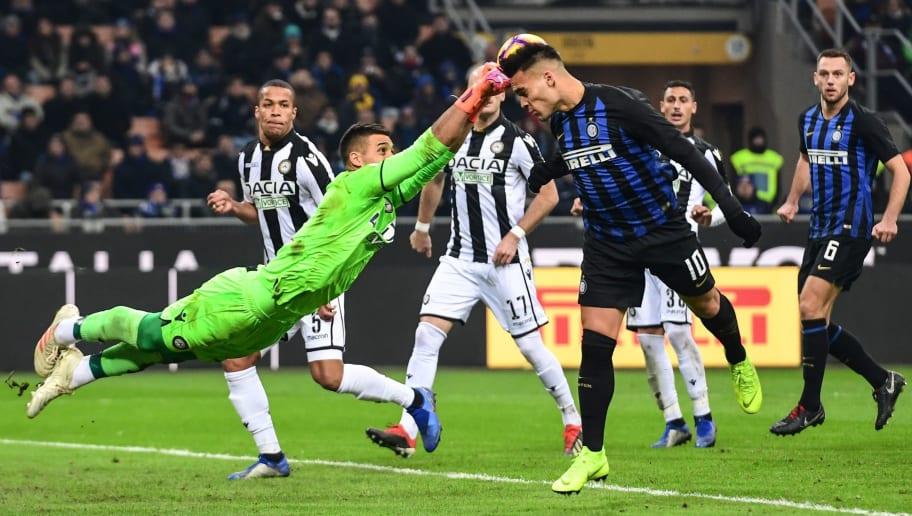 Udinese Vs Inter Milan H2h