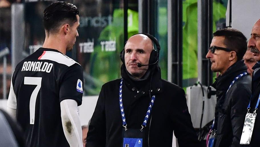 Bei Juve-Sieg gegen Milan: Cristiano Ronaldo flieht aus dem Stadion