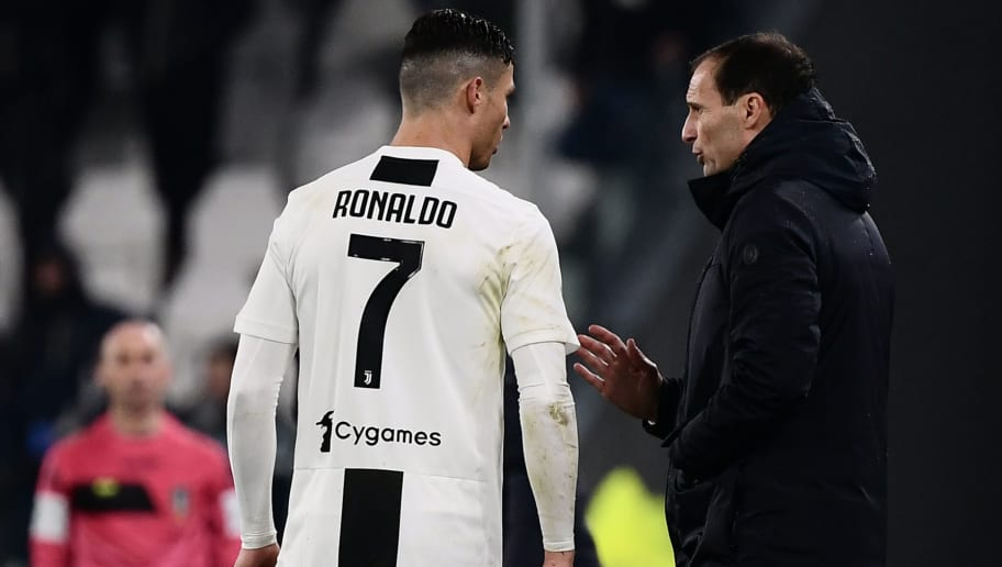787d482db Juventus  Max Allegri Believes That the Presence of Cristiano Ronaldo is A  Great Advantage for Them