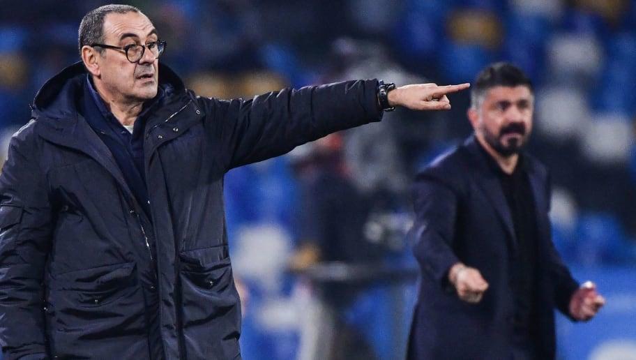 Juventus : L'étrange déclaration de Sarri après la défaite face à Naples