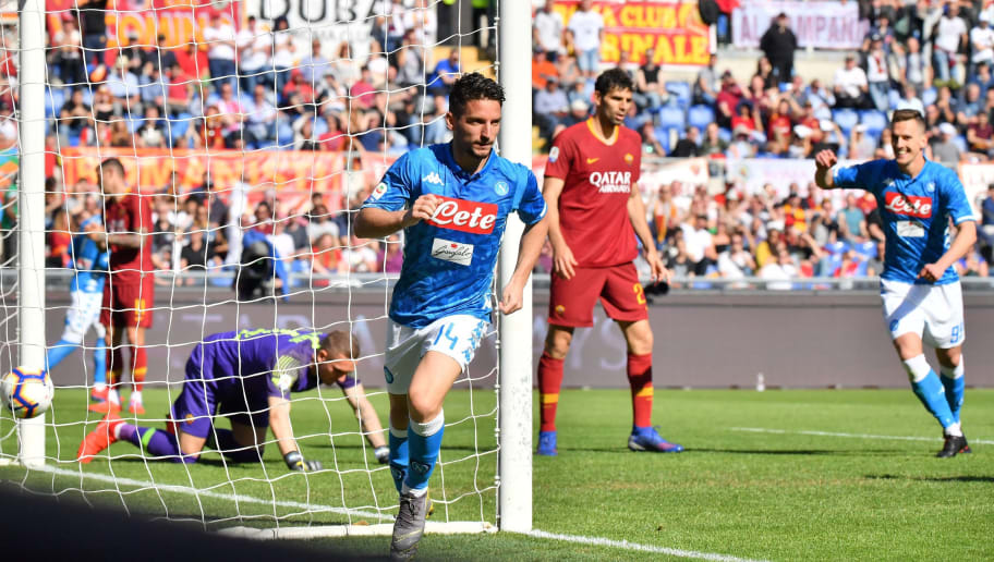 Roma 1 4 Napoli Report Ratings And Reaction As I Partenopei Dismantle Disorganised Roma 90min
