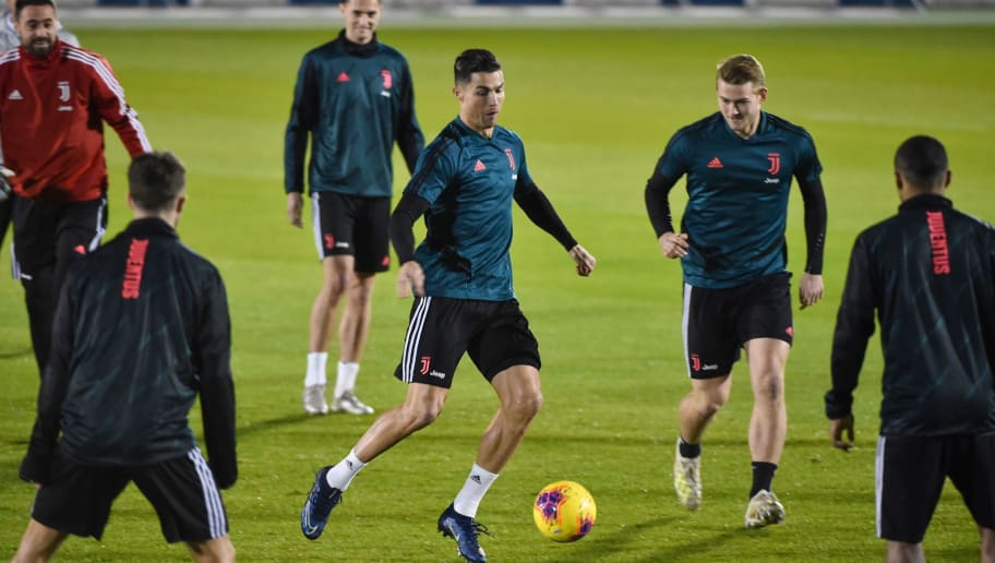 Cristiano Ronaldo Unveils Brand New Hairstyle In Training For The