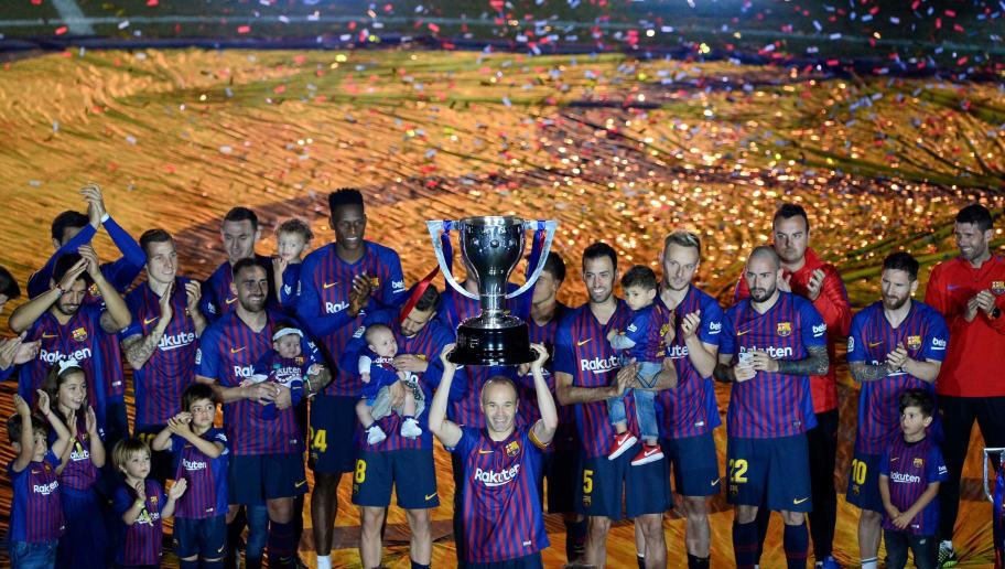 End Of Season Review Barcelona S Report Card From The 2017 18