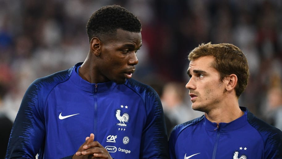 625df8940 antoine griezmann admits he s  tempted  to play with paul pogba at