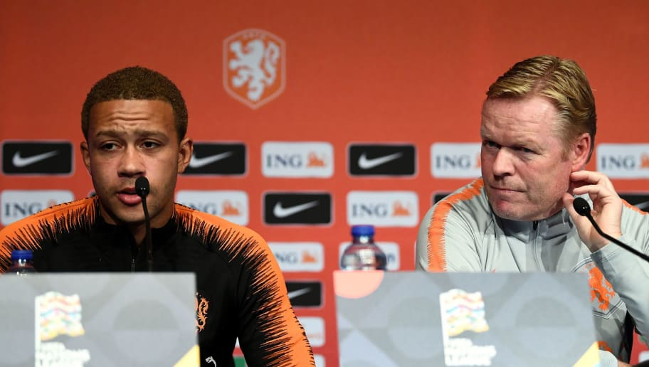 Netherlands Manager Ronald Koeman Says Memphis Depay is Crucial for the  Careless Team | ht_media